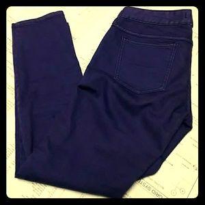 Free People Skinny jeans Purple, size 27